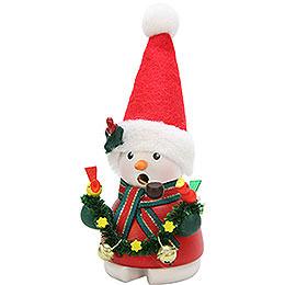 Smoker  -  Snowman Santa Claus  -  14cm / 6 inch