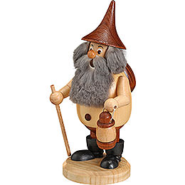 Smoker  -  Timber - Gnome Wanderer Natural Colors  -  Hat Brown  -  15cm / 6 inch
