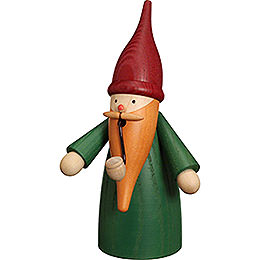 Smoker  -  Traditional Gnome Green  -  16cm / 6 inch