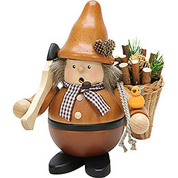 Smoker  -  Wood Collector Natural  -  18cm / 7.1 inch