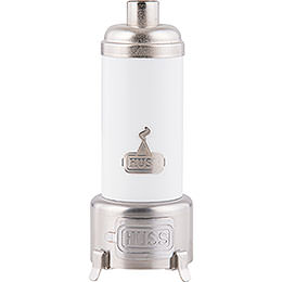 Smoking Stove  -  Bathing Stove White  -  14cm / 5.5 inch