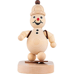 "Snowman  -  Junior ""Snow Hiker""  -  9cm / 3.5 inch"