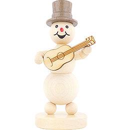 Snowman Musician Guitar  -  12cm / 4.7 inch