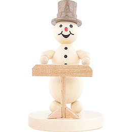 Snowman Musician Keyboard  -  12cm / 4.7 inch