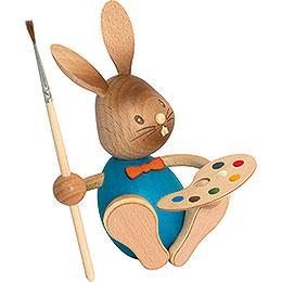 Snubby Bunny Artist  -  12cm / 4.7 inch