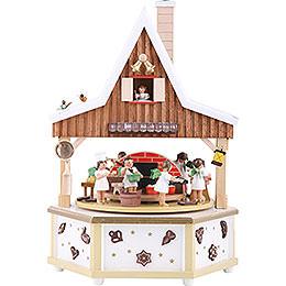 Spieldose Engelsbäckerei  -  34cm