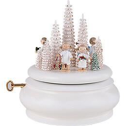 """Spieldose """"Weiße Weihnachten""""  -  15cm"""
