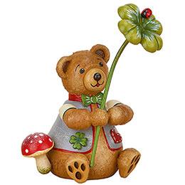 Teddy mini  -  Lucky Bear  -  7cm / 2.8 inch