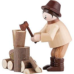 Thiel - Figur Holzhacker  -  natur  -  5,5cm