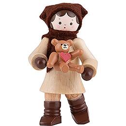 "Thiel Figurine  -  Girl ""My Friend""  -  6cm / 2.4 inch"