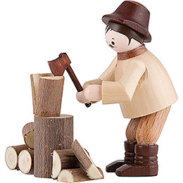 Thiel Figurine  -  Woodchopper  -  natural  -  5,5cm / 2.2 inch