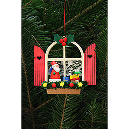 Tree Ornament  -  Advent Window with Niko  -  7,6x7,0cm / 3x3 inch