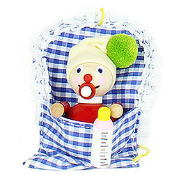 Tree Ornament  -  Baby Girl  -  10cm / 3.9 inch