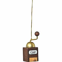 "Tree Ornament  -  ""Coffee Mill""  -  6cm / 2.4 inch"