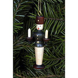 Tree Ornament  -  Miner Natural Colors  -  5,5cm / 2 inch
