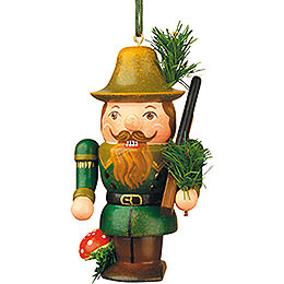 Tree Ornament  -  Nutcracker Forester  -  7cm / 3 inch