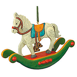 Tree Ornament  -  Rocking Horse  -  7cm / 3 inch