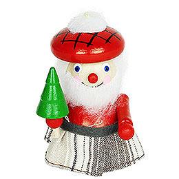 Tree Ornament  -  Scottish Santa  -  7,5cm / 3 inch
