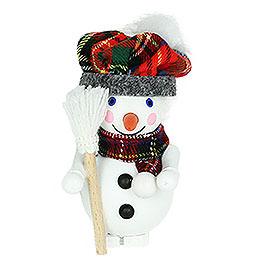 Tree Ornament  -  Scottish Snowman  -  8cm / 3.1 inch