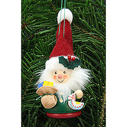 Tree Ornament  -  Teeter Man Santa Claus  -  12,5cm / 3 inch