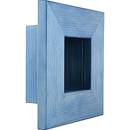 Wandrahmen blau  -  23x23x8cm