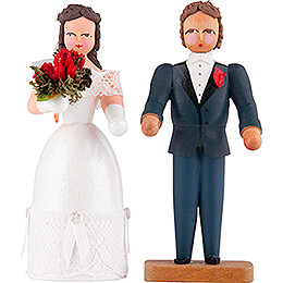 Wedding Couple  -  8cm / 3.1 inch