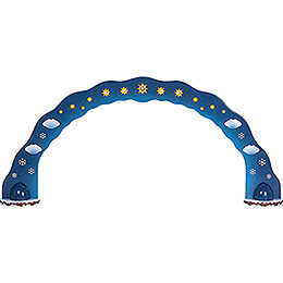 Winter Children Sky Arch  -  110x50cm / 43.3x19.7 inch