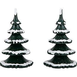 Winter Children Trees  -  Large  -  Set of 2  -  11cm / 4.3 inch
