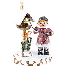 Winter Children Winter Bells  -  10cm / 4 inch