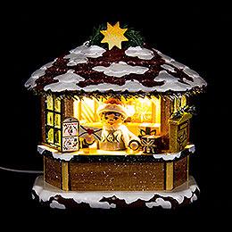 Winterkinder Weihnachtspostamt  -  10cm