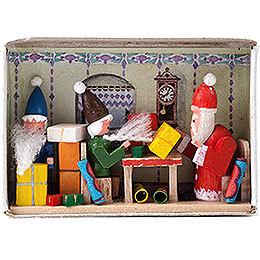 Zündholzschachtel Weihnachtsüberraschung  -  4cm